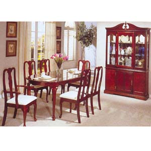7-Piece Cherry Room Dinette Set 2243A (A)