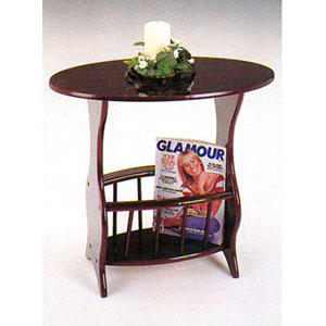 Cherry Wooden Magazine Table 2263 (A)