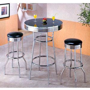 Chrome Plated Bar Table F2009 (PX)