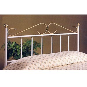 Headboard In White And Gold 23_ (CO)