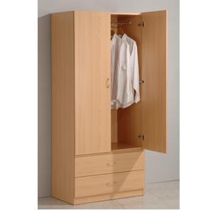 Two Door Wardrobe 4225_(PJFS100)