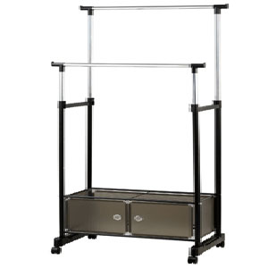 Heavy Duty Garment Rack With Storage 2776(PJFS20)