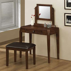 Coaster Accents Groups Vanity and Stool 300056(COFS45)