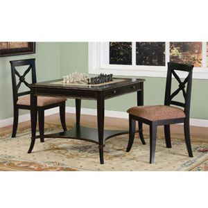 Masterpiece Antique Black Game Table 311-207 (PW)