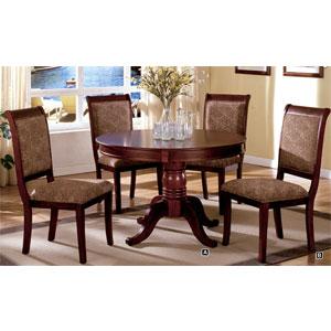 Saint Nicholas Round Dining Set CM3224RT/SC (IEM)