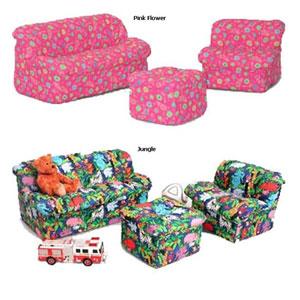 ChildrenÃs Foam Sofa Set  3Pc Set 32-4503_(AFA)