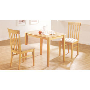 Solid Wood 3 Pcs  Bistro Set 387_/543_(SB)