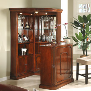 4pc Yorkshire Corner Wine Cabinet With Stand 40100(ML)