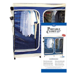 60 In. Portable Closet/Shoe Caddy 405_(KDYFS)
