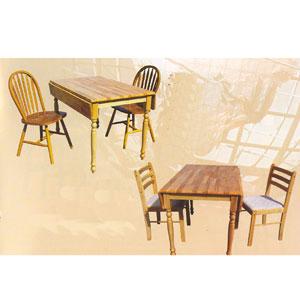 3 Pcs Drop Leaf  Dining Room Set 4135/41_(PJu)