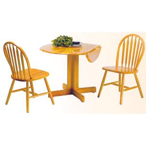 3-Piece Table & Chairs Set 4136/4125A (PJui)