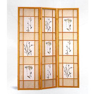 Natural Framed 3 Panel 4409(CO)