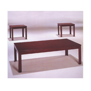 Coffee Table 3 Pc Coffee End Table Set 6174 A