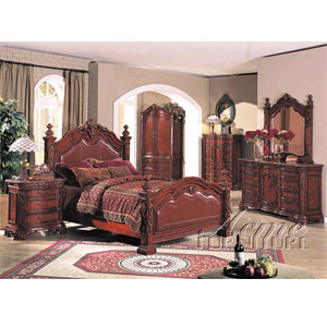 Bed Room Sets Renaissance Bedroom Set 6674 77 80 A