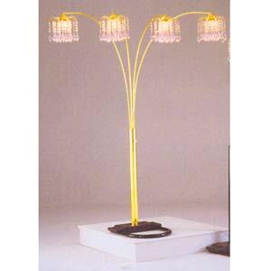 chandelier arch floor lamp ml