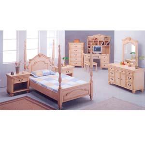 5-Piece Twin Size Bedroom Set 7118 (IEM)