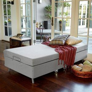 Twin Size Resort Premier Memory Foam Folding Guest Bed (SRFS