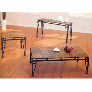 3-Pc Coffee And End Table Set 7637 (CO)