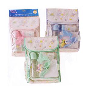 7 Piece Deluxe Diaper Bag Feeding Set 920(DM)