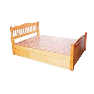 Twin Size Bed With Draws 8874 (CG)