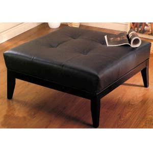 Leather Finish Ottoman 8910 (CO)