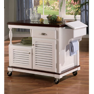 solid wood kitchen island cart work island on wheels solid wood kitchen cart in white 8170