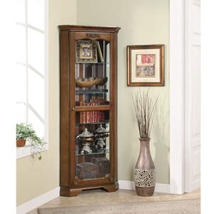 Corner Curio Cabinet 950195(CO)