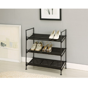 3 Tier Mesh Shoe Rack 97223(OIFS)