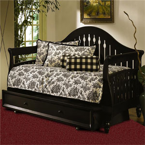 Fraser Daybed In Distressed Black B50133 (FB)