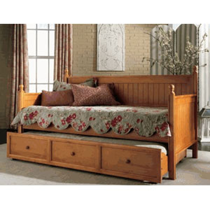 Solid Wood Casey Daybed in Maple Finish B50C53(LP)