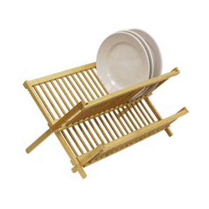 Solid Wood Folding Dish Rack DD01018(HDS)