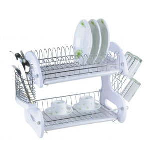 2-Tier Dish Drainer DD1024_(HDS8)(Free Shipping)