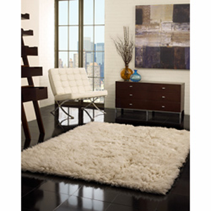 Alexa collection handmade alexa flokati new zealand wool for Affordable furniture greece ny