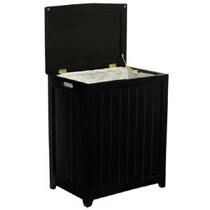 Mahogany Laundry Wood Hamper RHP0109MH (ODFS)