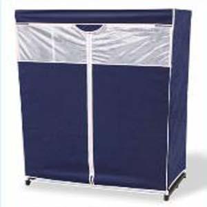 48 Inch Dustproof Portable Storage Wardrobe Elitedecore Com