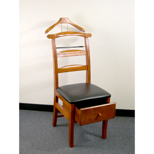 Manchester Chair Valet, Light Walnut VL16123 (PMFS)