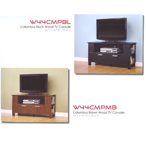 Columbus Wood TV Console W44CMP_(WE)