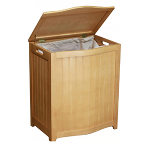 Bowed Front Laundry Hamper BHP0106_od