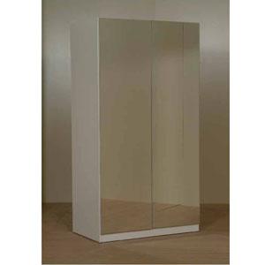 2 Door Mirrored Wardrobe Cm2 Ct