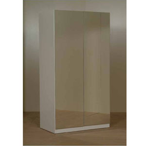 Exceptionnel 2 Door Mirrored Wardrobe CM2(CT)