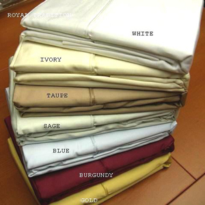 Solid Pair Pillow Cases 1000 TC 100% Egyptian Cotton e1000-p