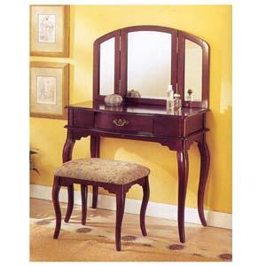 Vanity Set w/Stool F4045 (PXu)