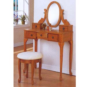 Vanity Set with  Stool F4049 (PXFS30)