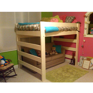Luxury How to Build A Wooden Loft Bed