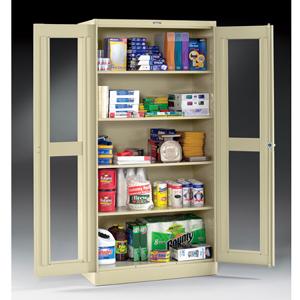 Standard C-Thru Storage Cabinet CVD47_ (TO)