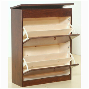 Charming Solid Birch Wood Shoe Cabinet TZ27 B(GH)