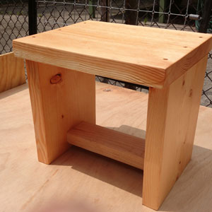 Solid Wood Multi-Purpose Stand 1000 Lbs Wt. Capacity
